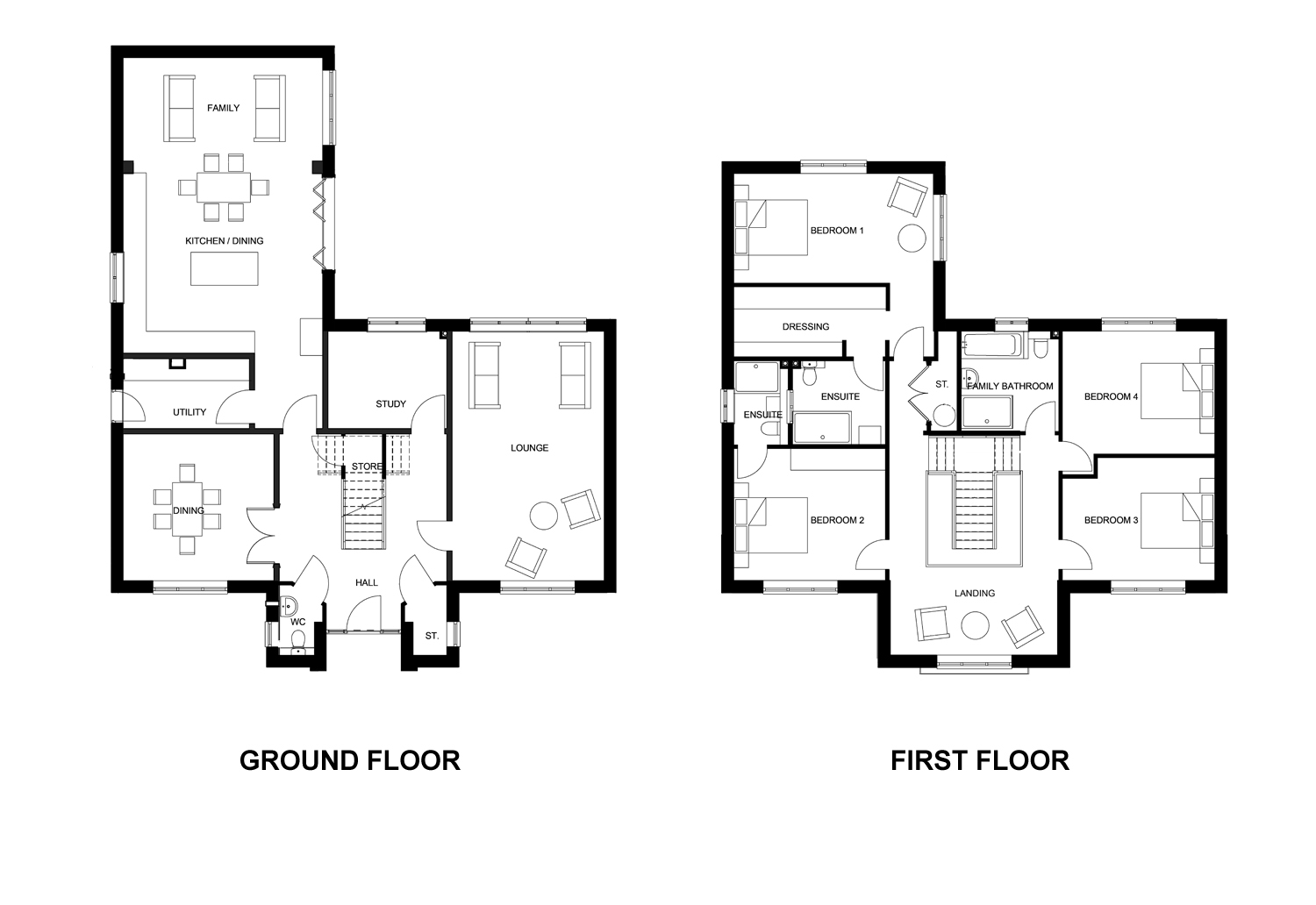 The Dalton Floor Plan