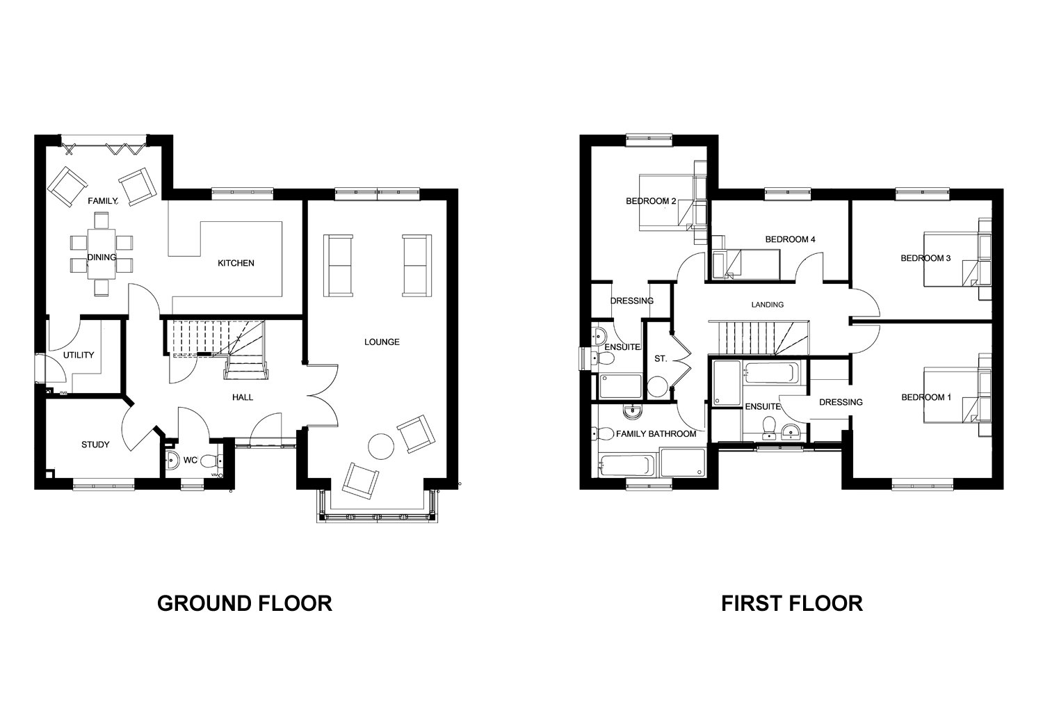 The Ogle Floor Plan
